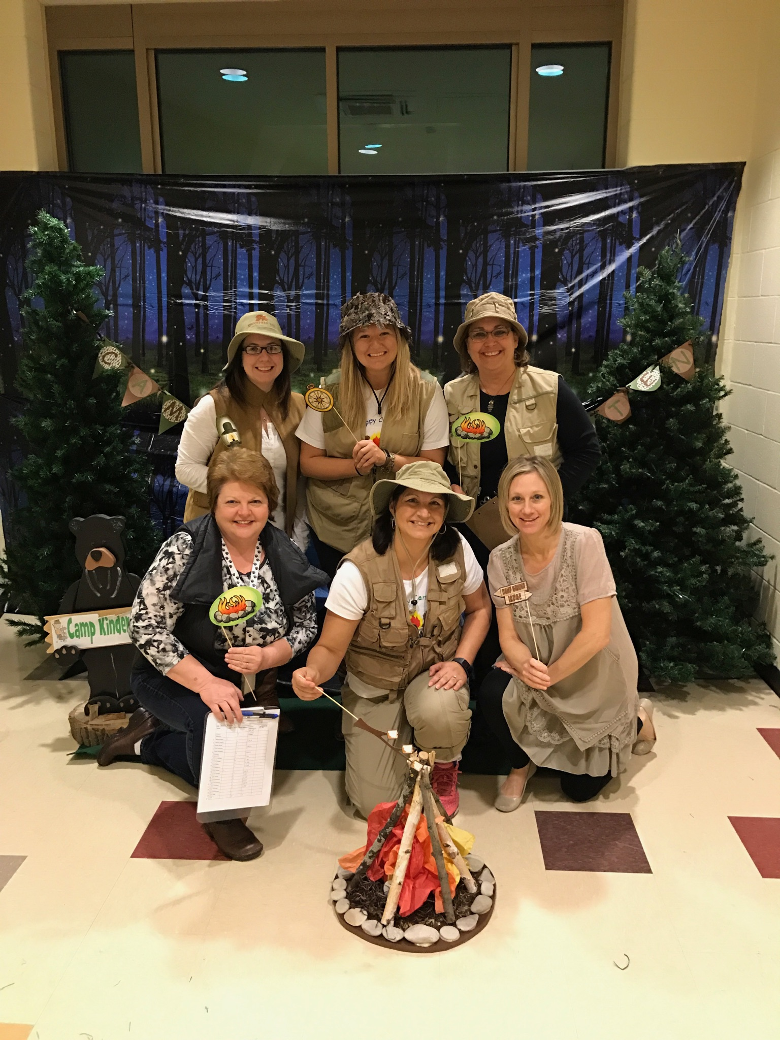 Protsman Kindergarten teachers ready for Camp Kindergarten